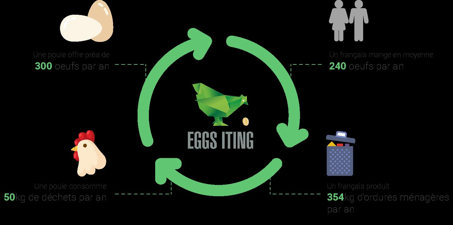 Le cercle vertueux d'Eggs-iting